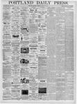 Portland Daily Press: March 30, 1876