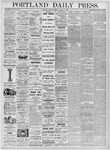Portland Daily Press: March 31, 1876