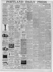 Portland Daily Press: April 1, 1876