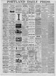 Portland Daily Press: April 3, 1876