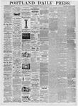 Portland Daily Press: April 5, 1876