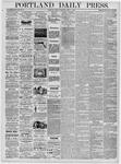 Portland Daily Press: April 7, 1876