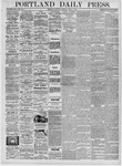 Portland Daily Press: April 8, 1876