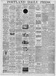 Portland Daily Press: April 10, 1876
