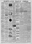 Portland Daily Press: April 14, 1876