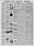 Portland Daily Press: April 15, 1876