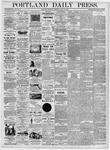 Portland Daily Press: April 20, 1876