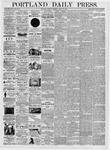 Portland Daily Press: April 25, 1876