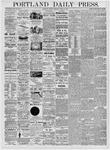 Portland Daily Press: April 28, 1876