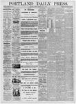 Portland Daily Press: May 2, 1876