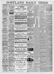 Portland Daily Press: May 5, 1876