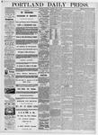 Portland Daily Press: May 6, 1876