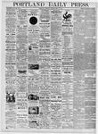 Portland Daily Press: May 11, 1876