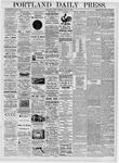 Portland Daily Press: May 12, 1876