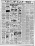 Portland Daily Press: May 14, 1876