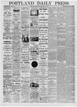 Portland Daily Press: May 20, 1876
