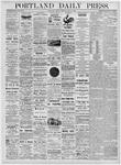 Portland Daily Press: May 22, 1876