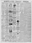 Portland Daily Press: May 25, 1876