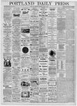 Portland Daily Press: June 1, 1876
