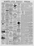 Portland Daily Press: June 6, 1876