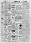 Portland Daily Press: June 8, 1876