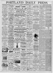 Portland Daily Press: June 15, 1876