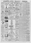 Portland Daily Press: June 21, 1876