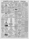 Portland Daily Press: June 23, 1876