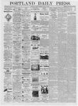 Portland Daily Press: June 27, 1876