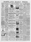 Portland Daily Press: June 29, 1876