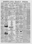 Portland Daily Press: June 30, 1876