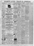Portland Daily Press: July 1, 1876