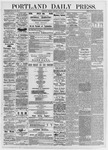 Portland Daily Press: July 3, 1876