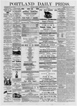 Portland Daily Press: July 4, 1876