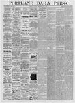 Portland Daily Press: July 6, 1876