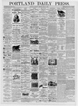 Portland Daily Press: July 13, 1876