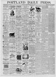Portland Daily Press: July 15, 1876