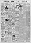 Portland Daily Press: July 17, 1876