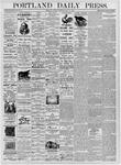 Portland Daily Press: July 18, 1876