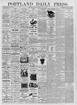 Portland Daily Press: July 20, 1876