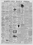 Portland Daily Press: July 21, 1876