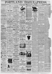 Portland Daily Press: July 22, 1876