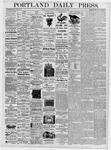Portland Daily Press: July 26, 1876