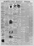 Portland Daily Press: July 27, 1876