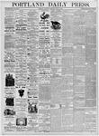 Portland Daily Press: July 29, 1876