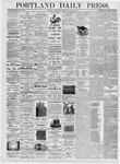 Portland Daily Press: August 2, 1876