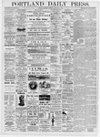 Portland Daily Press: January 3, 1876