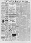 Portland Daily Press: January 6, 1876