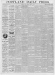 Portland Daily Press: January 7, 1876