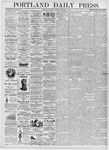 Portland Daily Press: January 8, 1876